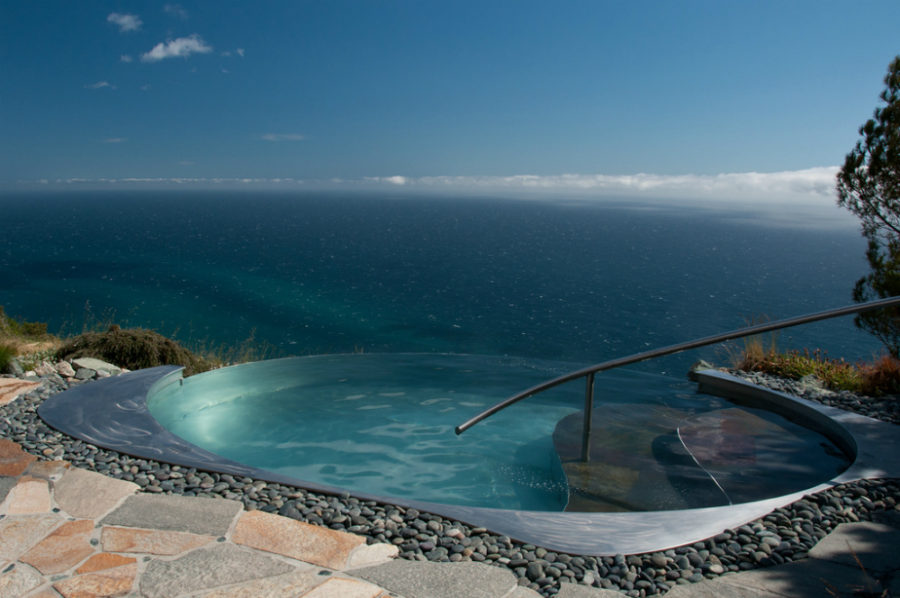 View in gallery Small infinity pool