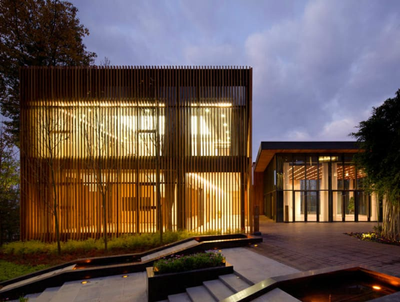 Innhouse clad in wood