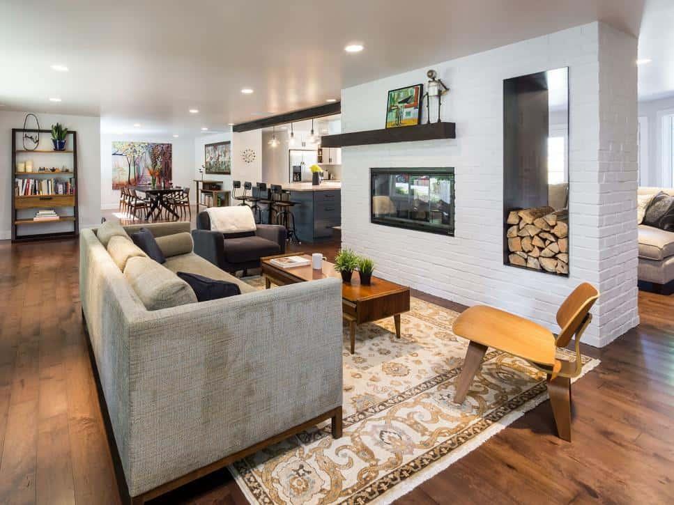Jackson Design ranch home living room
