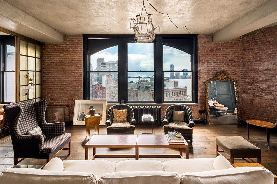 Kirsten Dunst's penthouse in SoHo