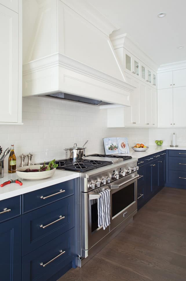 2 tone painted kitchen cabinets 35 two tone kitchen cabinets to reinspire your favorite 10114
