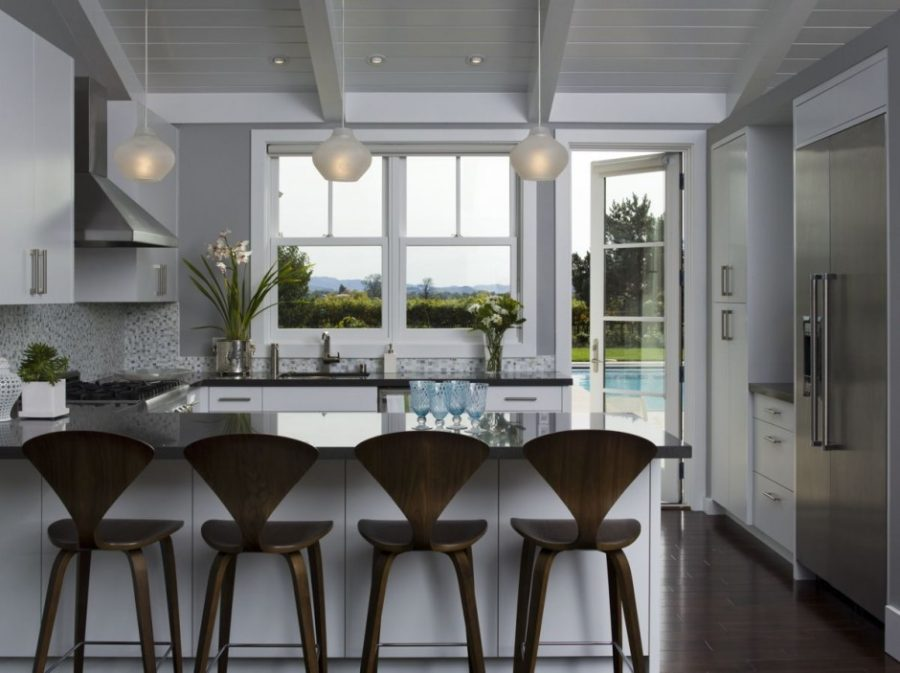 california dining room interior design California Wine Country Weekend Retreat View in gallery Kitchen Kitchen  View in gallery Indoor-Outdoor dining room