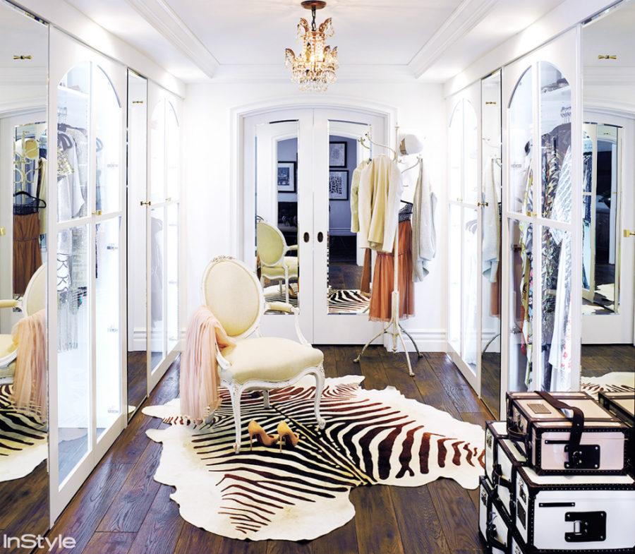 Lauren Conrad's closet