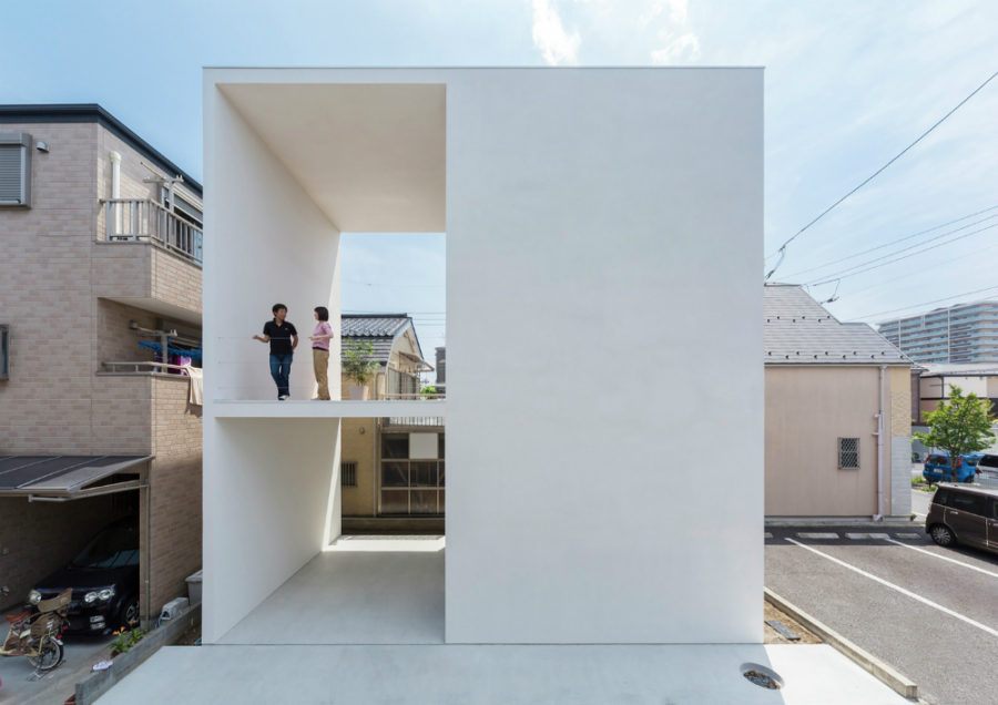 View In Gallery Little House With A Big Terrace By Takuro Yamamoto