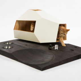 Lunar Cat Lander by Knowhow Shop. 285x285 Designer Cat Beds for Most Capricious Felines
