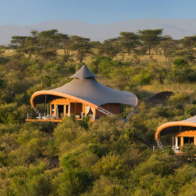 Mahali Mzuri tents in Maasai Mara safari camp 285x285 20 Worlds Most Beautiful Eco Resorts