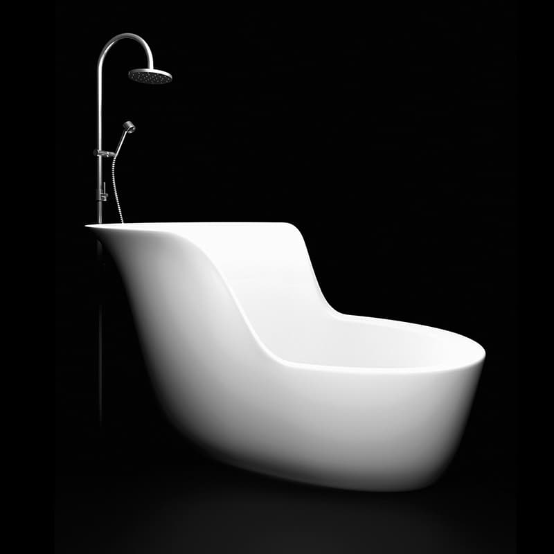 View In Gallery Marmorin Small Soaking Tub Small Bathtub Designs Made For  Ultimate Relaxation