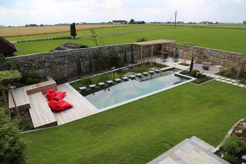 Natural pool by ensata