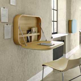 But Wall Mounted Desks Arenu0027t Just For Small Spaces. In Spacious Modern  Homes Their Sleek And Minimal Look Is Valued Way Over Bulky Furniture  Pieces.
