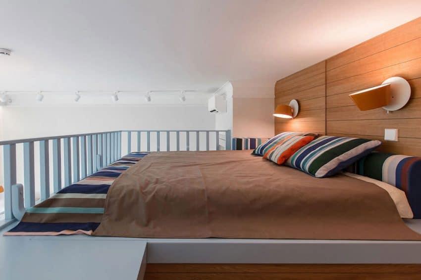 Parents' loft bedroom