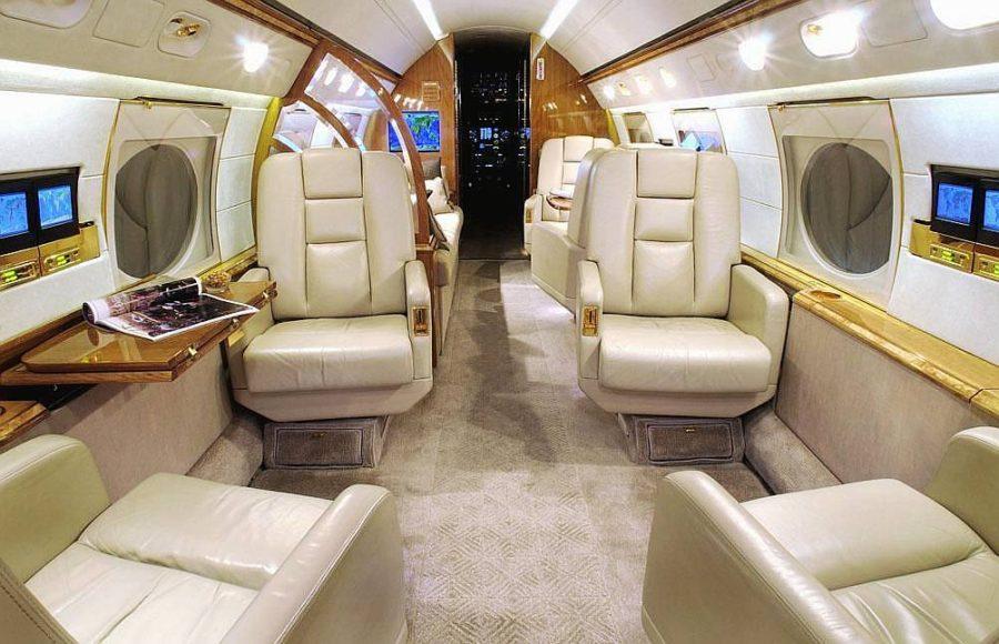 Pfizer's Corporate Jet seats