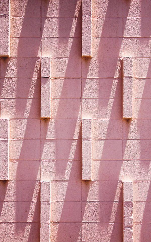 Pink Directional Brick Texture