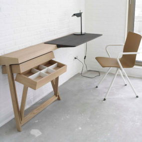 Pivot Desk 285x285 Best Wall Mounted Desk Designs For Small Homes