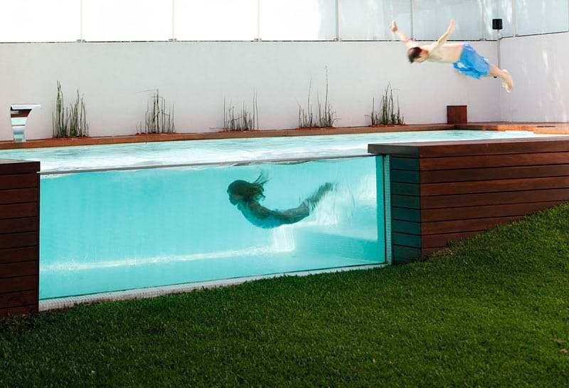 Pool design by Andres Remy Arquitectos
