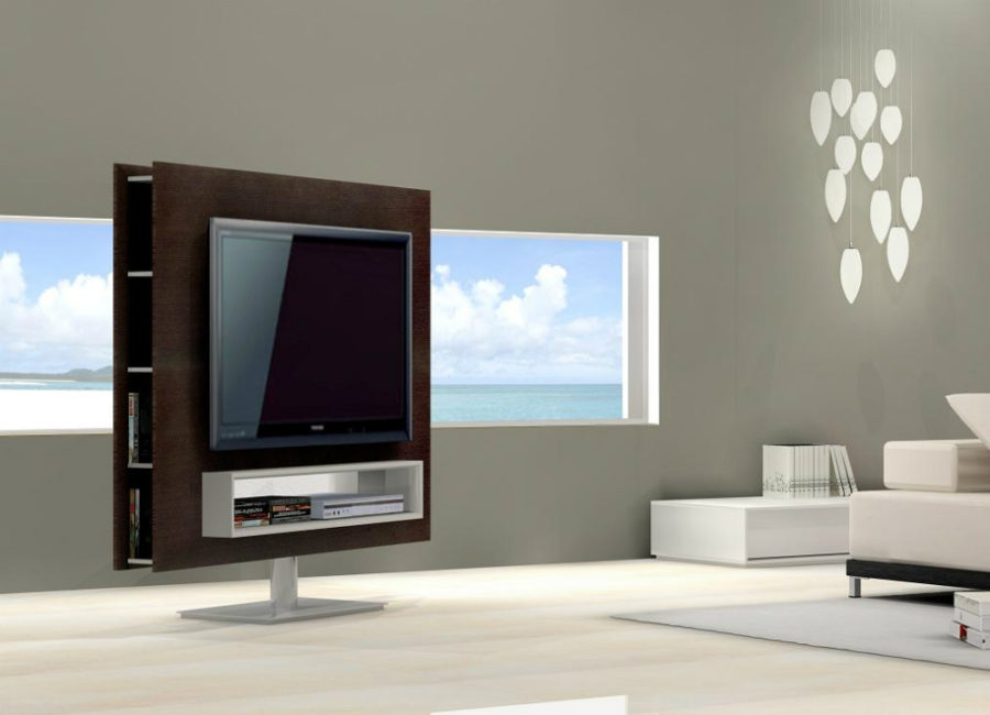 television tables living room furniture.  Porto Premium Swivel TV Unit 44 Modern Stand Designs for Ultimate Home Entertainment