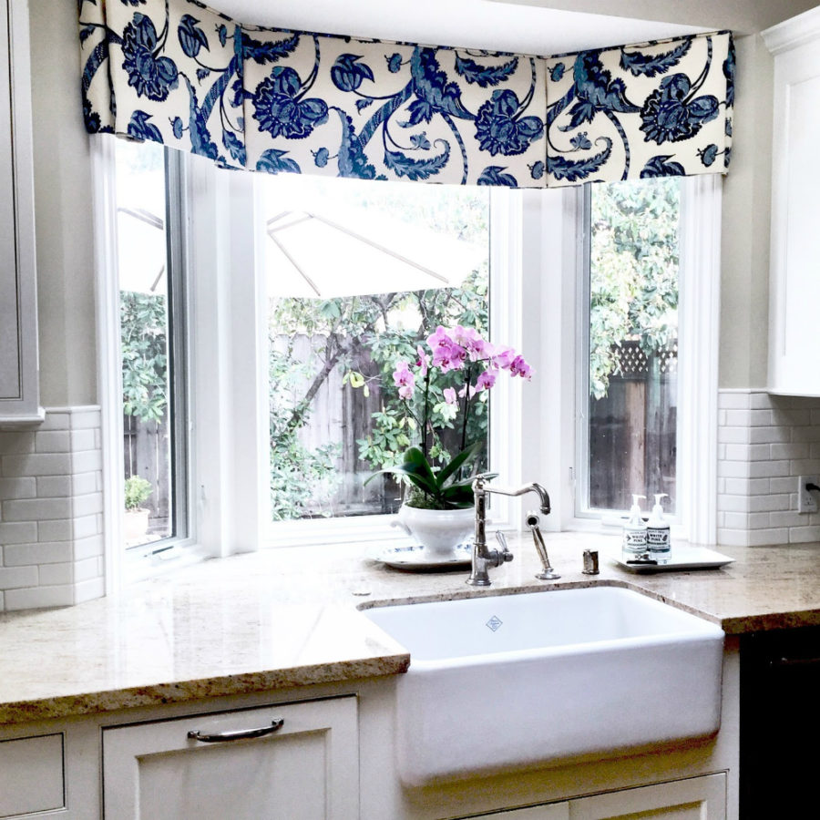 Valances For Bay Windows : Watch out fresh window treatment ideas