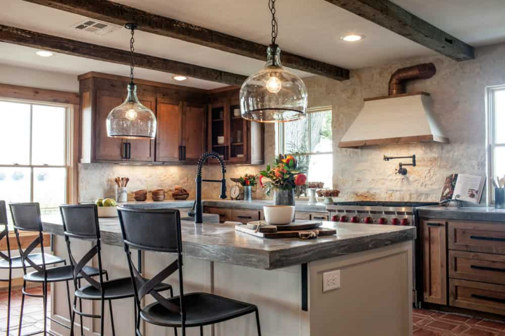 Ranch house kitchen remodel