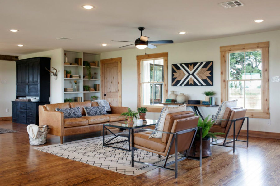 Ranch House Living Room Remodel