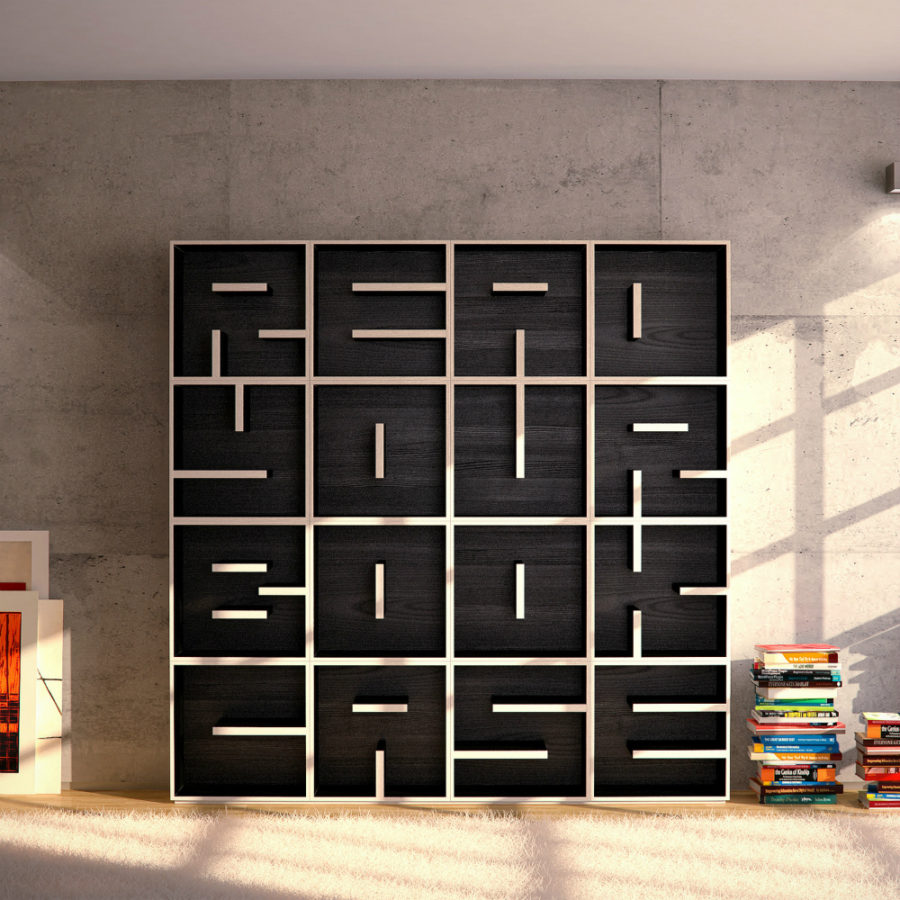 Readyourbookcase by Saporiti