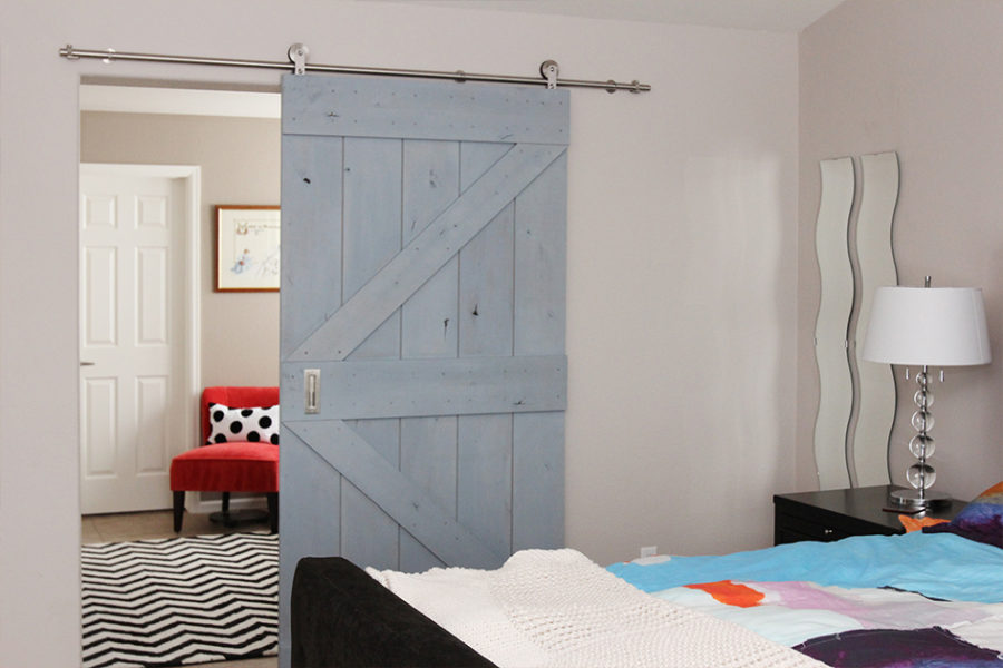 Real Sliding Hardware barn door
