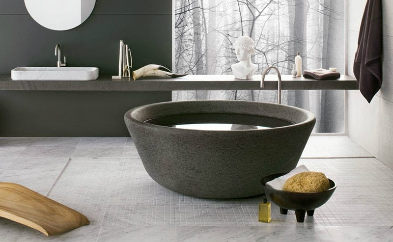 SPA bathtub designed by nespoli e novara for Neutra Design