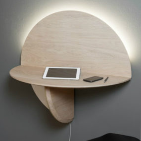 Saturne by Élise Fouin 285x285 Best Wall Mounted Desk Designs For Small Homes