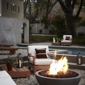 Simo Design 285x285 Turn Up the Heat With a Stylish Fire Pit