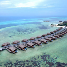 Solar powered Finolhu Villas 285x285 20 Worlds Most Beautiful Eco Resorts