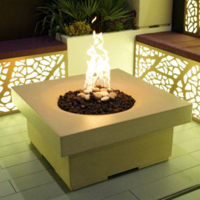 Solus Decor fire pit 285x285 Turn Up the Heat With a Stylish Fire Pit