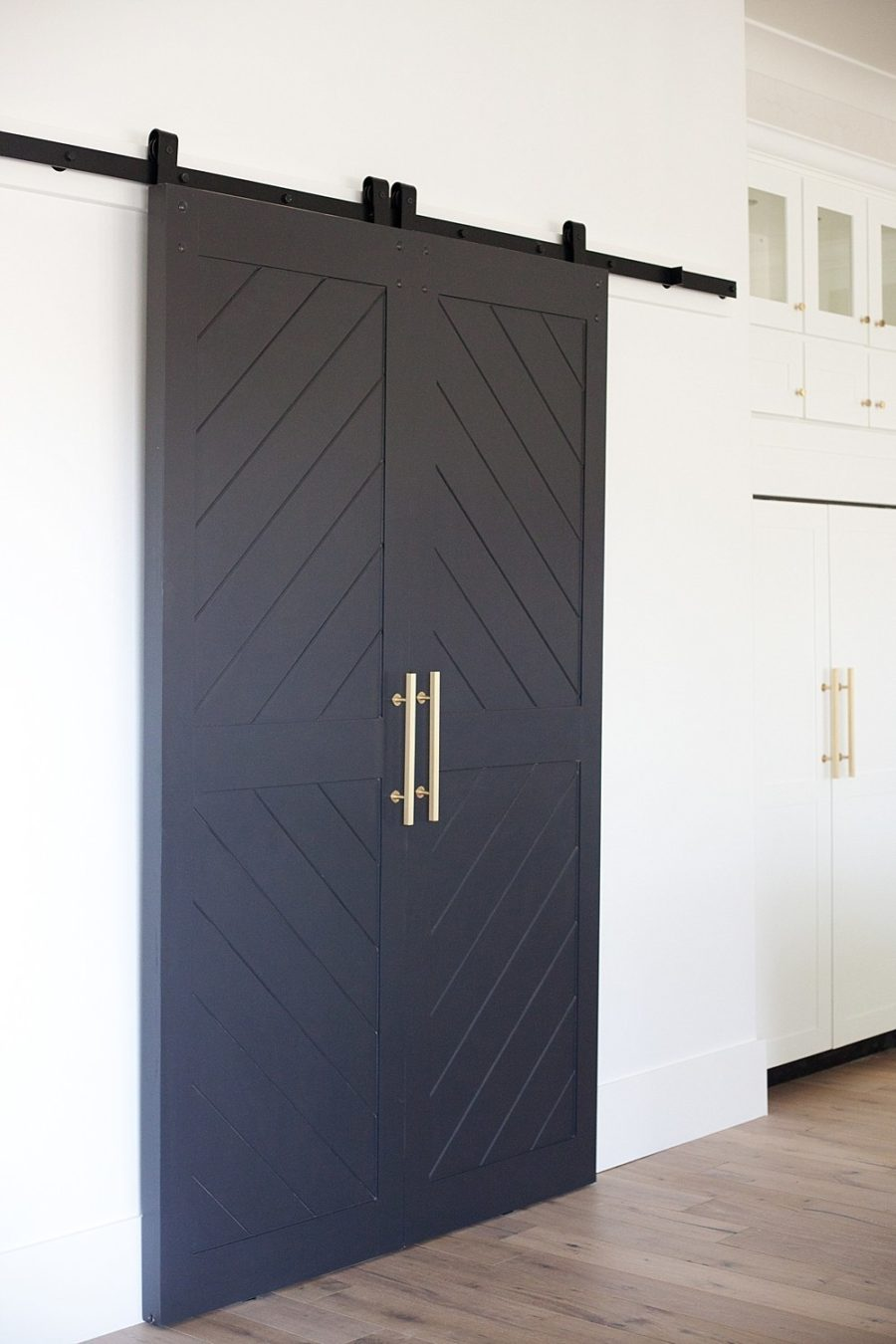 Sophisticated barn door