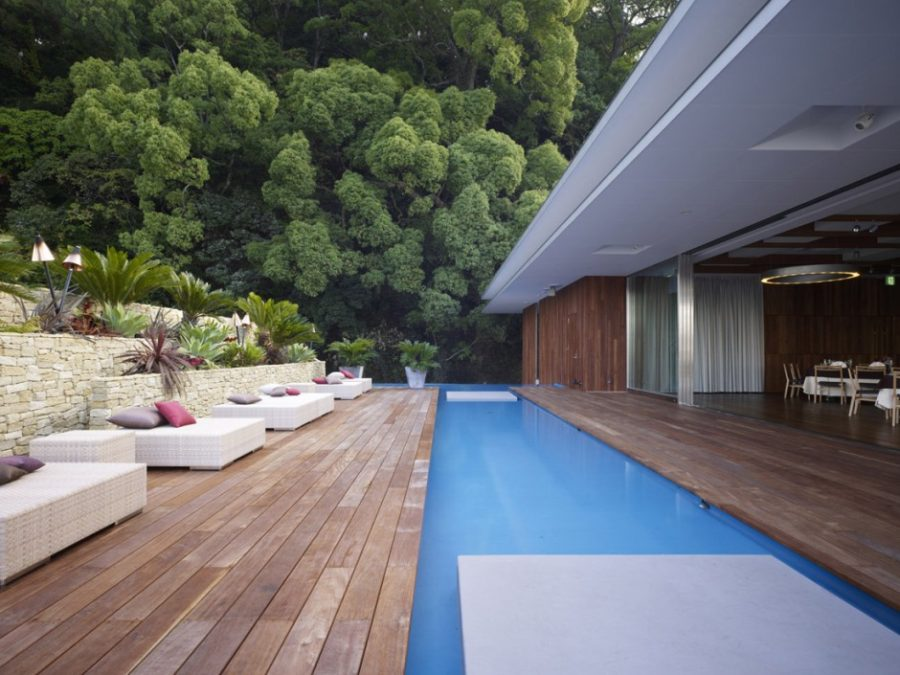 Outdoor Living Space Covered Decks