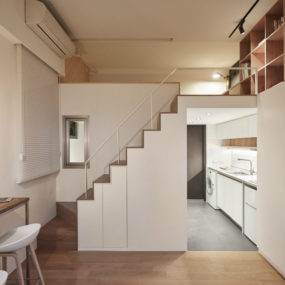 Brilliant Tiny Apartment in Taiwan by A Little Design