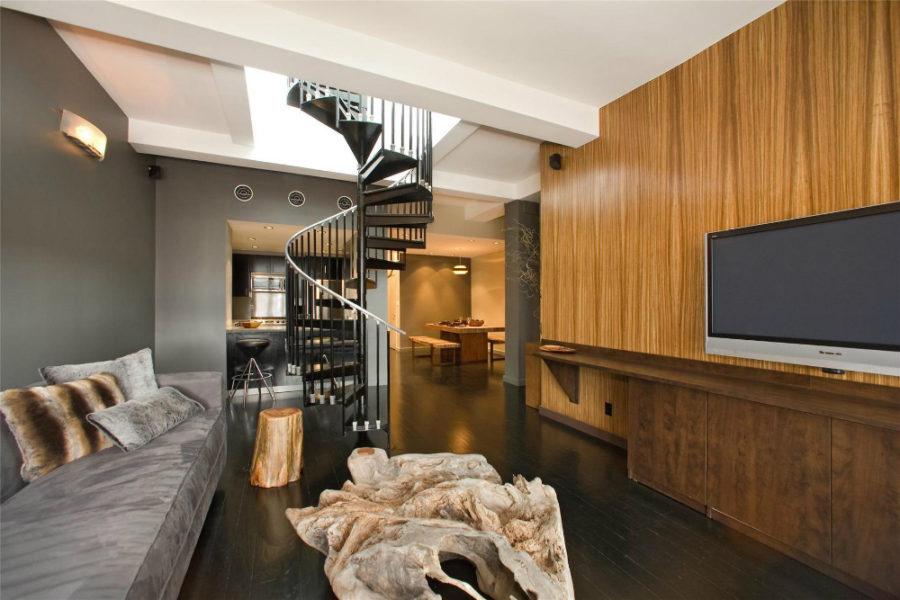 Stephen Dorff's Chelsea penthouse