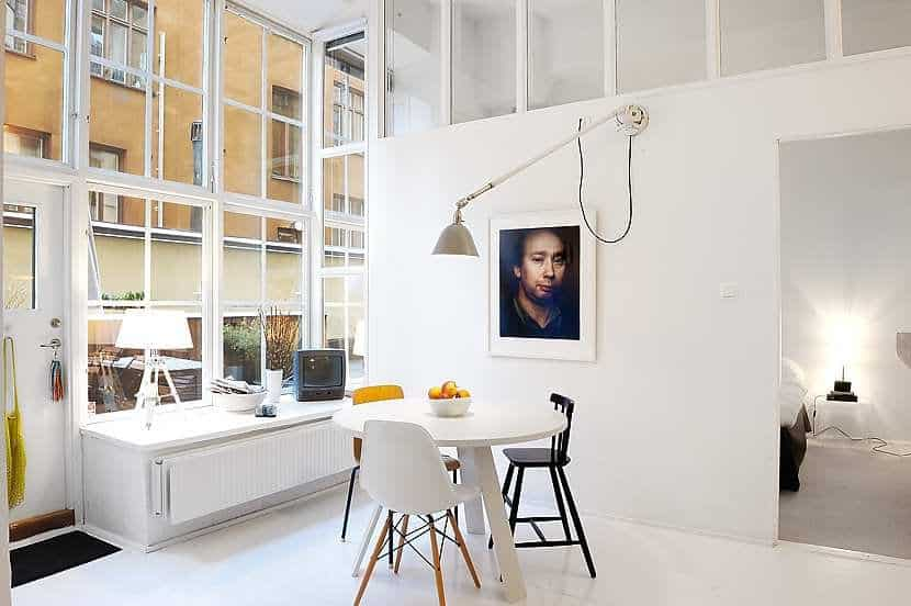 Stockholm warehouse loft