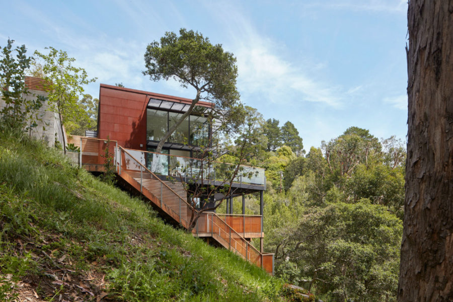Tamalpais Residence by Zack deVito Architecture Construction 900x600 Sustainable Tamalpais Residence in Mill Valley, California