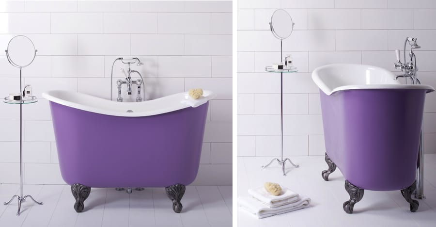 Tubby too short roll top bathtub