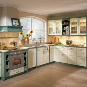 Cabinet Ideas Twotonekitchen Kitchen Kitchencabinet Kelly Deck Design 285x285 35 View In Gallery