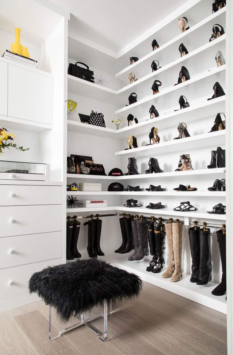 View In Gallery Tyra Banks Closet