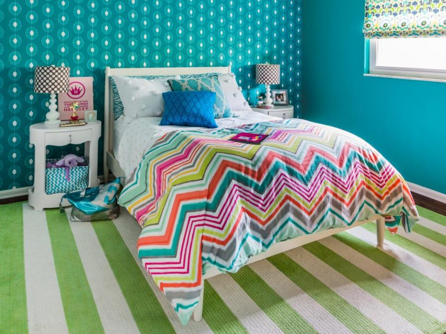 Colorfully bright kid's room