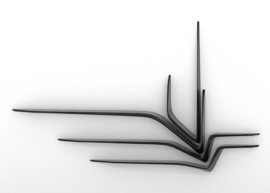Zaha Hadid's Valle wall shelves