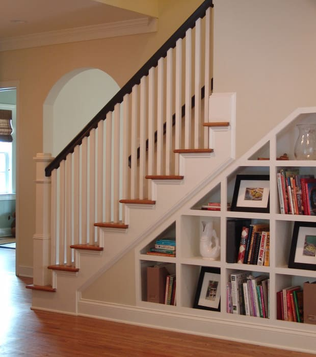 20 ways to turn stairs into an amazing bookshelf library. Black Bedroom Furniture Sets. Home Design Ideas