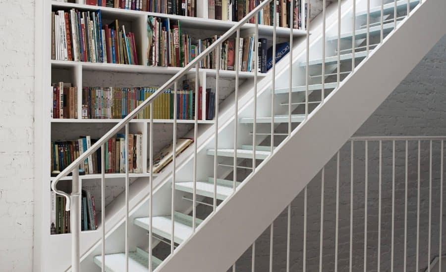 Modern Metal Stairwell