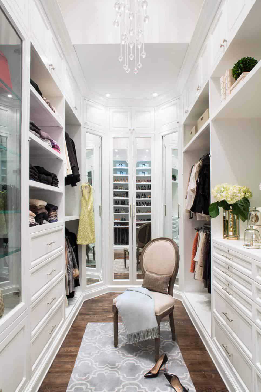 Closet design by Lisa Adams