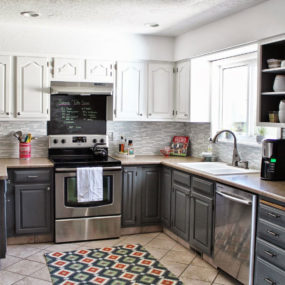 ... Two Tone Kitchen Cabinets To Reinspire Your Favorite Spot · View In  Gallery ...