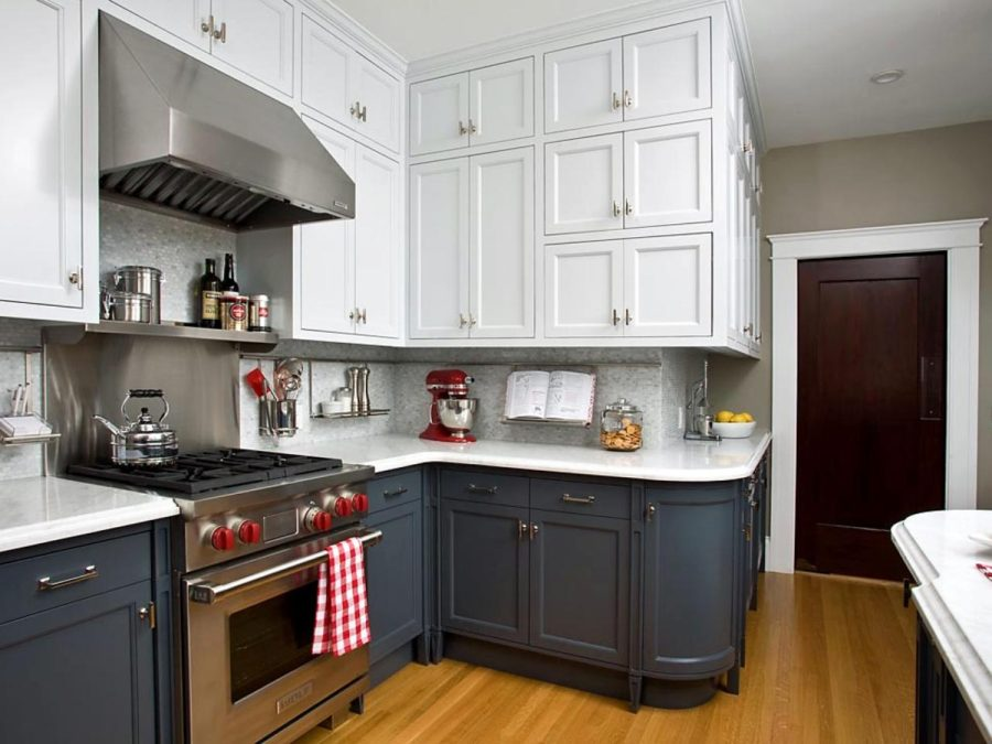 35 Two Tone Kitchen Cabinets To Reinspire Your Favorite Spot In The - Colored-kitchens