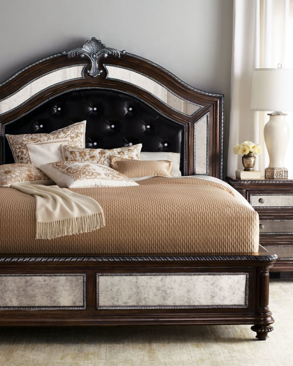 These 37 elegant headboard designs will raise your bedroom for Leather headboard designs