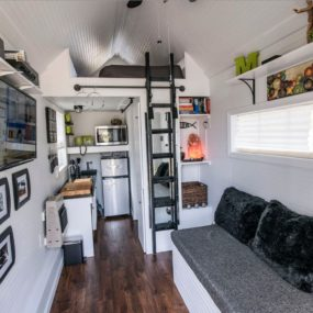 tiny house optimezed interior 285x285 Extremely Tiny Homes: Minimalistic Living in Style