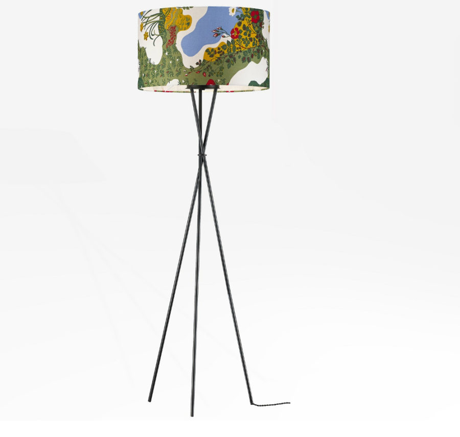 66.2 in Tripod Floor Lamp by Stilnovo
