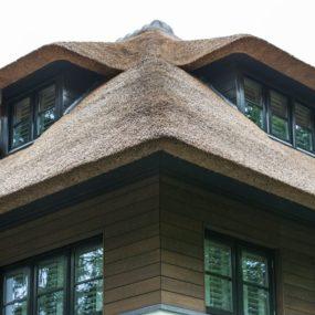 Striking Villa Naarden Is A Modernized Dutch Thatched House