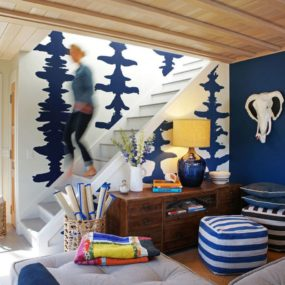 Add colors to your basement 285x285 Bright Basement Remodelling Ideas